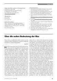 Über die wahre Bedeutung der Ilias - Perseus Verlag