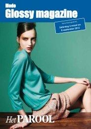 Glossy magazine Mode bij Het Parool - de Persgroep Advertising