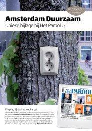 Amsterdam Duurzaam - de Persgroep Advertising