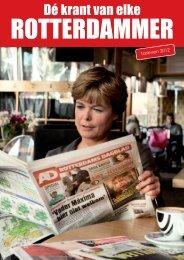 Brochure AD Rotterdams Dagblad - 2012 - de Persgroep Advertising
