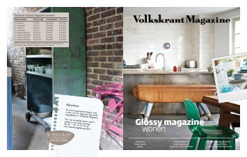 Glossy magazine wonen - de Persgroep Advertising