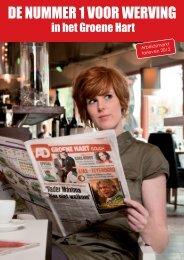 Brochure 2012 - AD Groene Hart - Banen - de Persgroep Advertising