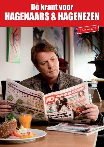 Brochure 2012 - AD Haagsche Courant - commercieel