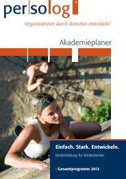 Akademieplaner - Persolog GmbH