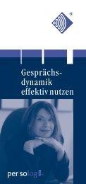 Gesprächsdynamik-Profil - Persolog GmbH