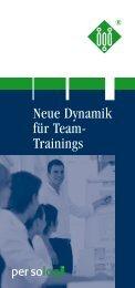 Info-Flyer zur Zertifizierung - Persolog GmbH