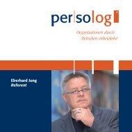 Referenten-Mappe - Persolog GmbH