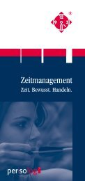 Download Zeitmanagement-Flyer - Persolog GmbH