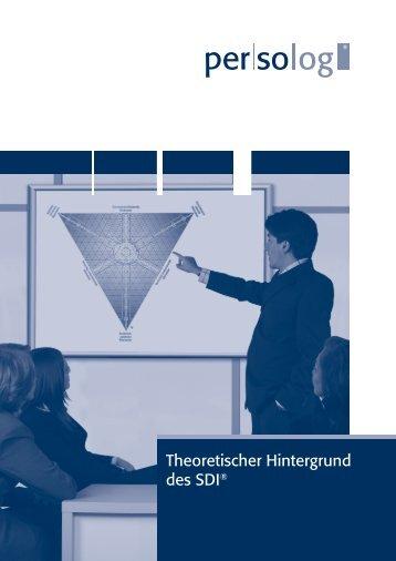 Theoretischer Hintergrund des SDI® - Persolog GmbH
