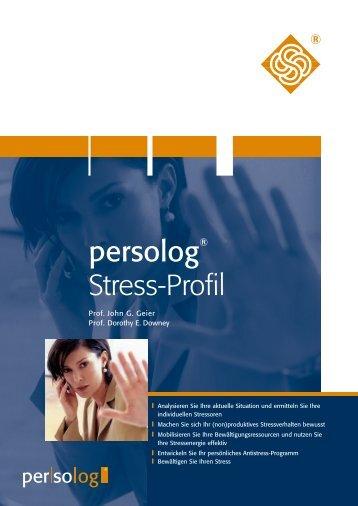 Sehen Sie hier ein Auszug aus dem persolog ... - Persolog GmbH