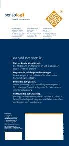 Flyer zur Zertifizierung - Persolog GmbH - Page 6