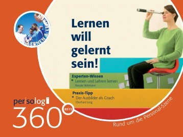 Ausgabe 2/2012 - Persolog GmbH