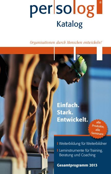 Katalog 2013 - Persolog GmbH