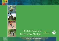 Bristol's Parks and Green Space Strategy - Bristol City Council