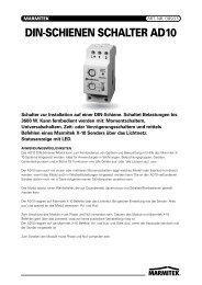 DIN-SCHIENEN SCHALTER AD10 - PERSONAL ROBOTICS
