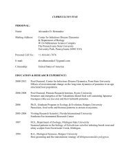 curriculum vitae - Penn State Personal Web Server - Penn State ...