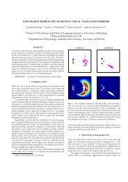 View-based modelling of human visual navigation errors