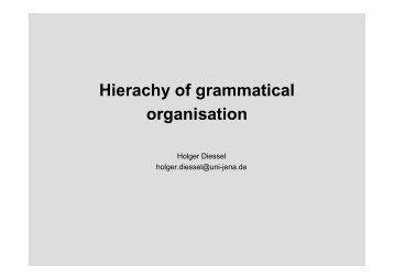 9. Grammatical relations
