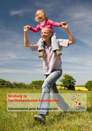 Broschuere-Beratung zu familienbewussten Arbeitszeiten - der ...