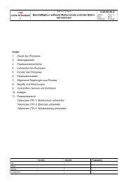 Prozessbeschreibung (PDF, 84,1 KB) - der Personalabteilung - TU ...