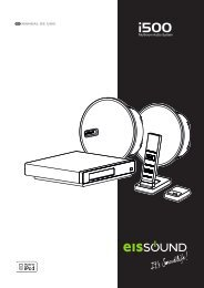 ESP MANUAL DE USO Multiroom Audio System - eissound