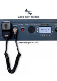 AUDIO CONTRACTOR - Lights Online