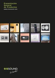 Presentación General de Productos - eissound