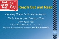 Reach Out and Read - Childrens Health Alliance of Wisconsin