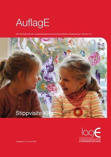 Stippvisite Kita - Landesarbeitsgemeinschaft der Elterninitiativen in ...