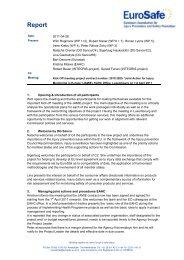Report Kick Off JAMIE 7&8 April 2011 Lux - EuroSafe