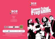 Stevenson College Edinburgh July & August 2008 and 2009 - EASY