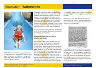Waterslides - EuroSafe