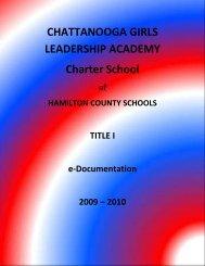 CHATTANOOGA GIRLS LEADERSHIP ACADEMY Charter School
