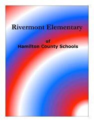 Rivermont elementary - Hamilton County Department of Education