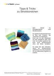 Tipps & Tricks zu Strickbündchen - Farbenmix