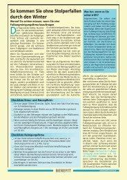 Benefit 1/04 - FID Gesundheitswissen