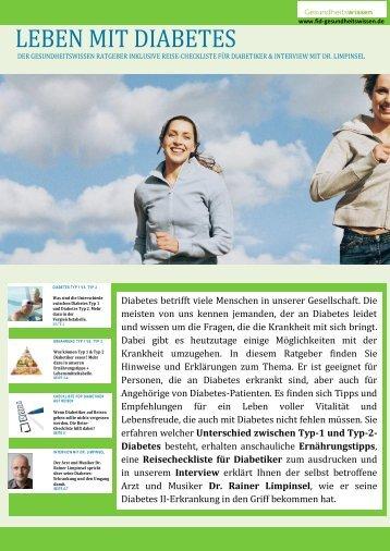 Diabetes Ratgeber - FID-Gesundheitswissen