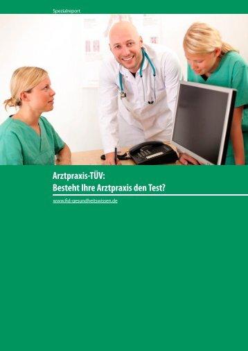 Besteht Ihre Arztpraxis den Test? - FID Gesundheitswissen