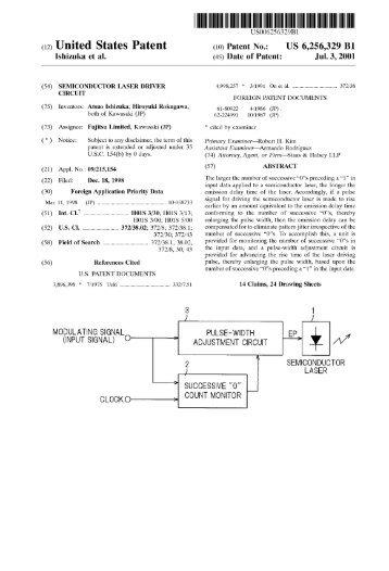 Semiconductor laser driver circuit - Google