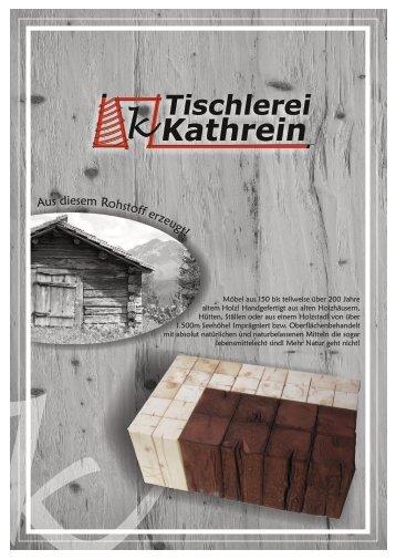 Altholzmöbel Tischlerei Kathrein Stefan Ischgl