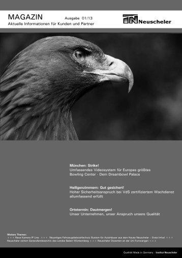 Magazin Ausgabe 01/13 - Neuscheler