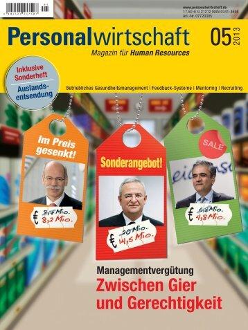 Blick ins Heft - Personalwirtschaft