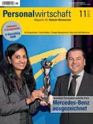 Mercedes-Benz ausgezeichnet - Personalwirtschaft