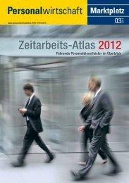 Zeitarbeits-Atlas 2012 - Personalwirtschaft