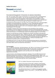 Jahrbuch Personalentwicklung 2010 - Personalwirtschaft