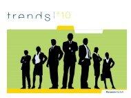 Zehn Trends im Personalmanagement - Personalwirtschaft