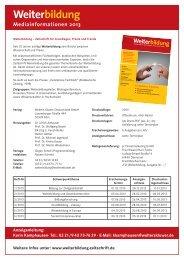 Zeitschrift Weiterbildung - Personalwirtschaft