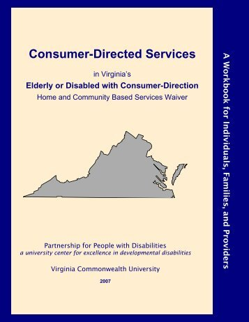Consumer-Directed Services - Virginia Commonwealth University