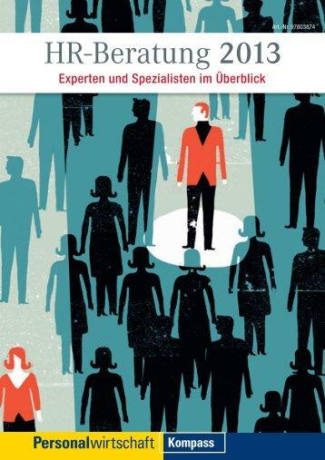 HR-Beratung 2013 - Personalwirtschaft
