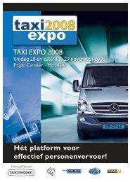 taxi expo 08 v6 - Personenvervoer Magazine